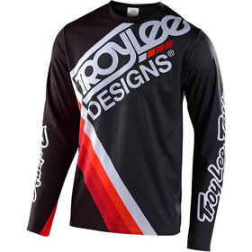 Troy Lee Designs Sprint Ultra Maillot manches longues, tilt black/grey